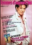 Telecharger Livres FEMMES D AUJOURD HUI ECHO DE LA MODE No 11 du 13 03 1984 FEMMES DE MARINS NOUVELLE VAGUE MODE NOUVELLE LES PETITS PRIX LES JUPES UNE VESTE REVERSIBLE RESTAURER LE BOIS EN PROFESSIONNEL VOTRE REMISE EN FORME (PDF,EPUB,MOBI) gratuits en Francaise
