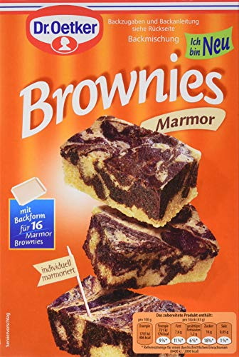 Dr. Oetker Marmor Brownies, 8er Pack (8 x 450 g)