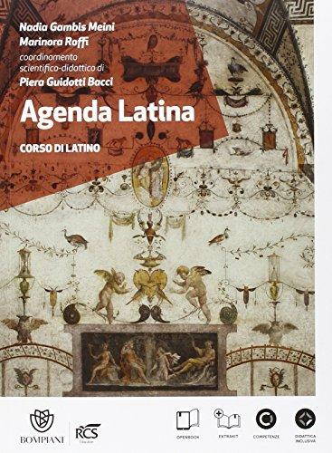 Agenda latina. Scienze umane. Con glossario. Per le Scuole superiori. Con e-book. Con espansione online