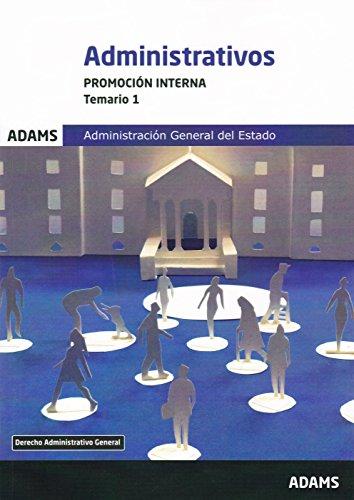 Temario 1 Administrativos Administración del Estado. Promoción interna