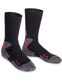 Original Footstar Thermo Socken Vollfrottee im sportlichen Design für Damen und Herren - super weich und warm - 6 Paar