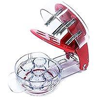 Condello Casa acero inoxidable deshuesador de aceitunas redcherry Pit Remover herramienta máquina para Mason Jar 6 cerezas