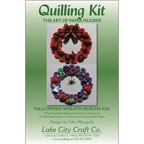 Lake City Craft Kit Halloween carta per quilling Ghirlande