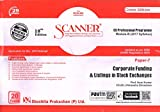 Scanner CS Professional Module - III (2017 Syllabus) Corporate Funding & Listings in Stock Exchanges (Green Edition)