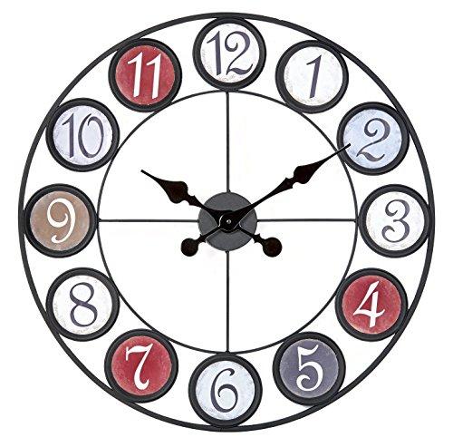 Ceanothe 34457 Horloge Multicolore 60 cm