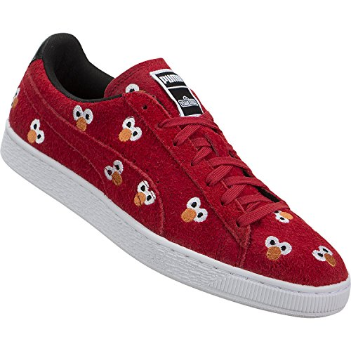 PUMA Select Men s x SESAME STREET Suede Sneakers  High Risk Red  9 D M  US