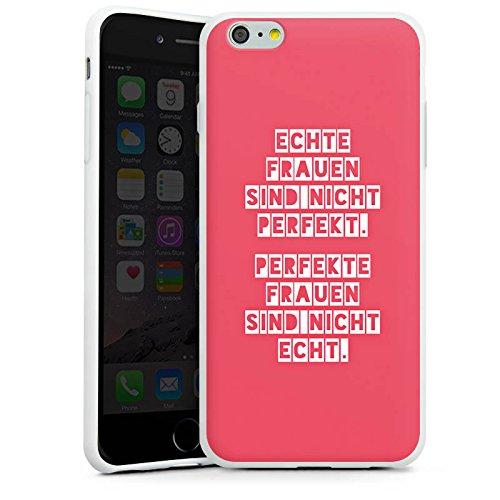 Apple iPhone X Silikon Hülle Case Schutzhülle Frauen Sprüche Frau Silikon Case weiß