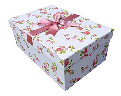 X Groß Handmade Hochzeit Kleid Box (Wild Rose) 75cm x 50cm x 30cm