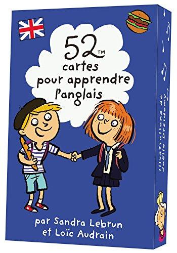 52 CARTES POUR APPRENDRE L'ANGLAIS par Sandra Lebrun