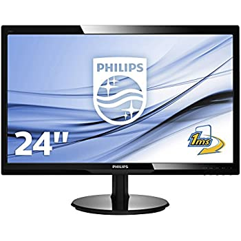 8b69ef691 Philips 246V5LHAB/00 24-Inch LCD/LED Monitor - Black: Amazon.co.uk ...