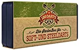 180 Darts Starter-Box   3X Dartpfeile Steel- und Softdarts   Für Profis und Anfänger   3X Nylon...