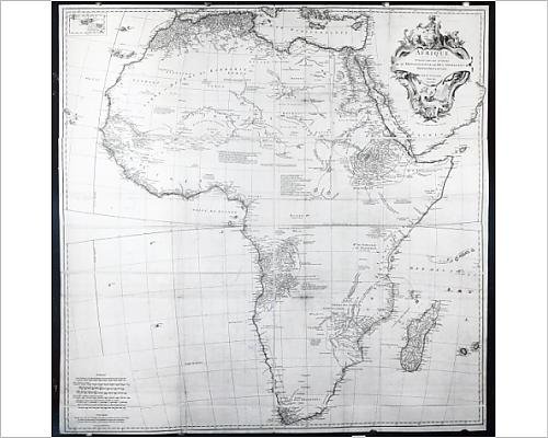 photographic-print-of-map-of-africa-engraved-by-guillaume-delahaye-1749-engraving-b-w-photo