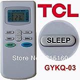 Sicher Vending Schweden Versandkosten (1 Stück / Los) TCL Split und tragbare Klimaanlagen-Fernbedienung GYKQ-03