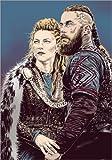 Póster 50 x 70 cm: Vikings de Paola Morpheus - impresión artística, Nuevo póster artístico
