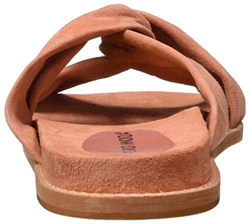 VERO MODA Damen Vmcelia Leather Sandal Pantoletten Pink (desert Sand)