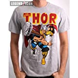 Uomini Marvel Thor Martello Maglietta grigio grigio grigio xx-large
