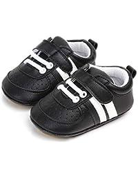 Zapatos Unisex Bebe Niño Niña Recién Nacido Primeros Pasos Zapatillas Deportivas Bebé Suela Blanda Antideslizante