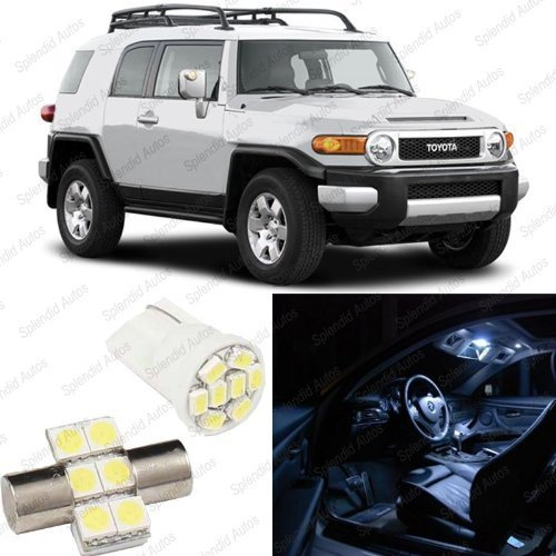 splendid-autos-xenon-white-led-toyota-fj-cruiser-interior-package-deal-2008-and-up-4-pieces-by-splen