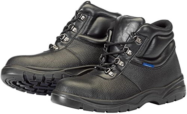 Draper 85951 s1-p-src Chukka Botas de seguridad, diseño, negro, tamaño 8