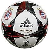 adidas Fußball Finale 2014 FC Bayern München Capitano, White/Poppy/Black, 5, F93386