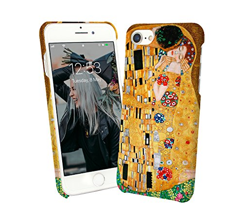 929b2c1ef6f Klimt Kiss Art Painting Gold Flowers Couple Love_000076 Phone Case Cover  Carcasa De Telefono Estuche Protector For iPhone 6 iPhone 6s Funny Christmas