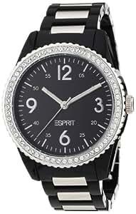 Esprit Damen-Armbanduhr XL marin Analog Plastik A.ES105212001