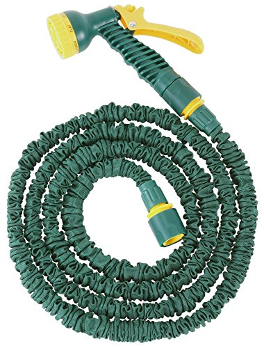 FloraSun Flexibler Gartenschlauch mit Zubehör 7,5 m