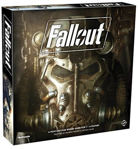 Fantasy Flight Games ZX02 FFGZX02 Fallout: the Board Game
