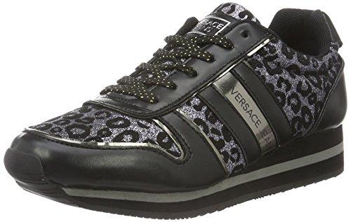 Versace Jeans - Ee0vobsb1, Scarpe indoor multisport Donna, Nero, 38