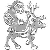 Troqueles Scrapbooking - Acero al Carbono Padre de Navidad en Relieve Troqueles de Corte Plantillas Molde para Bricolaje Scrapbooking álbum de papel tarjeta