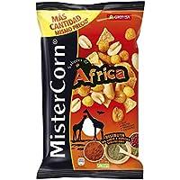 Grefusa - MisterCorn Africa   Cocktail de Frutos Secos con Sabor a Especias Surafricanas - 195 gr