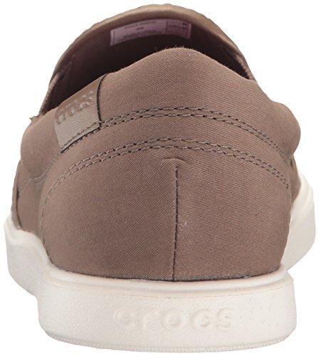 Crocs CitiLane Slip-on Sneaker, Sneakers Basses femme Vert (Olive)