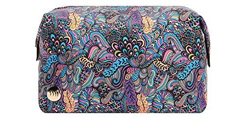 Mi-Pac Mi-Pac Wash Bag Kulturtasche, 20 cm, Mehrfarbig (Paisley Pop Multi) (Paisley-20)