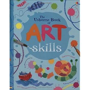 Art Skills (Art Ideas) (Usborne Art Ideas) (Spiral-bound)