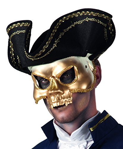 Boland 00384 - Maske Venice Pirata (Pirate Halloween-make-up)