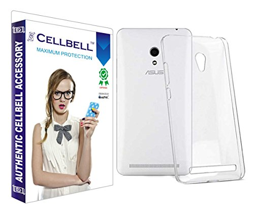 Cellbell Ultra Thin 0.3mm Clear Transparent Flexible Soft TPU Slim Back Case Cover For Asus Zenfone 5  available at amazon for Rs.105