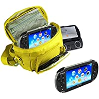 Orzly® - GAME & CONSOLE TRAVEL BAG for Sony PSP Consoles (GO/VITA/1000/2000/3000) Has Special Compartments (Psp 2000 Console)