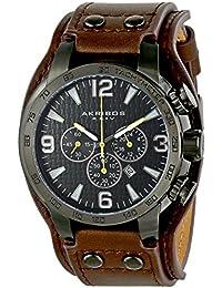 Akribos XXIV Reloj de cuarzo Man AK727BKBR 50 mm