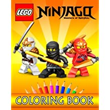 LEGO NINJAGO Movie: Coloring Book for Kids: 30 Gorgeous Illustrations for Coloring