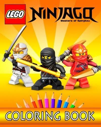 Preisvergleich Produktbild LEGO NINJAGO Movie: Coloring Book for Kids: 30 Gorgeous Illustrations for Coloring