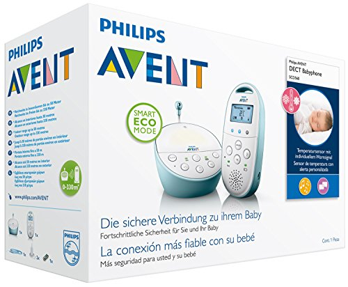 Philips Avent SCD560/00 DECT Babyphone, blau - 6