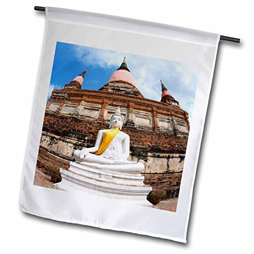 3dRose FL_70832_1 Buddha, großer Tempel des verehrten Victory, Thailand-AS36 AJE0140-Adam Jones Gartenflagge, 30,5 x 45,7 cm (Adam Decke)