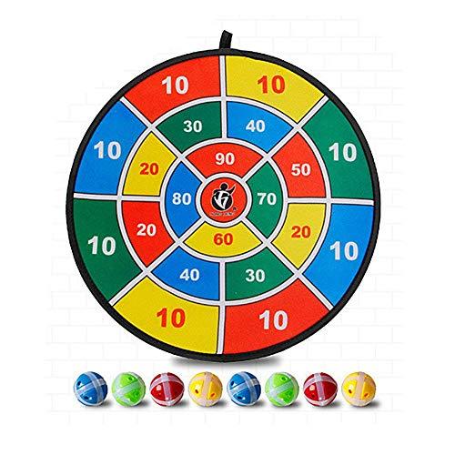 Seasonaliy Kinder Dart Brettspiel, Zwei Stoff Stoff Dart Board Dart Ball, Kinder Sicherheit Sport Spielzeug für House Home Party Outdoor-Spiel
