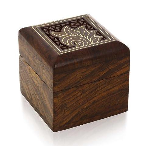 Box Für Ringe Ohrringe Zehen Ringe Manschettenknöpfe Kleine Schmuck Geschenke Aus Holz
