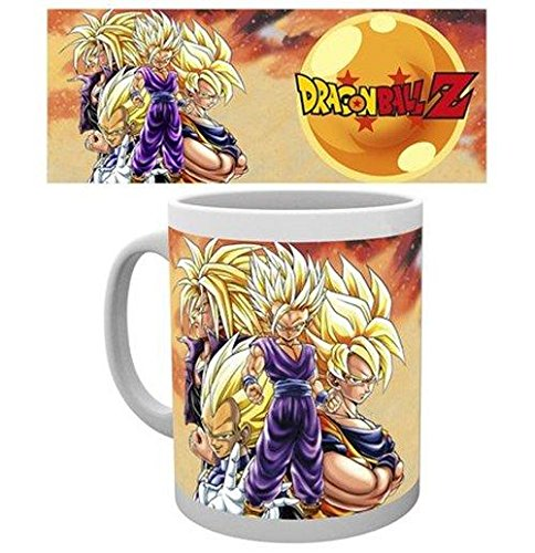 GB Eye Ltd-Stampa Super Saiyans Dragon Ball Z-Tazza Multicolore