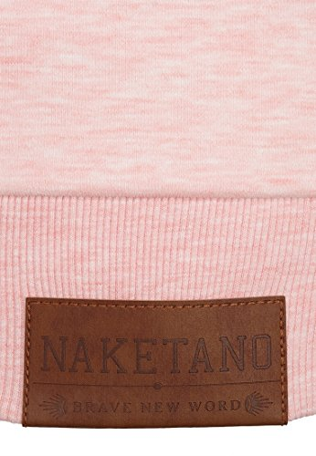 Naketano Female Sweatshirt Debil mit Stil V Candy Muschi Melange