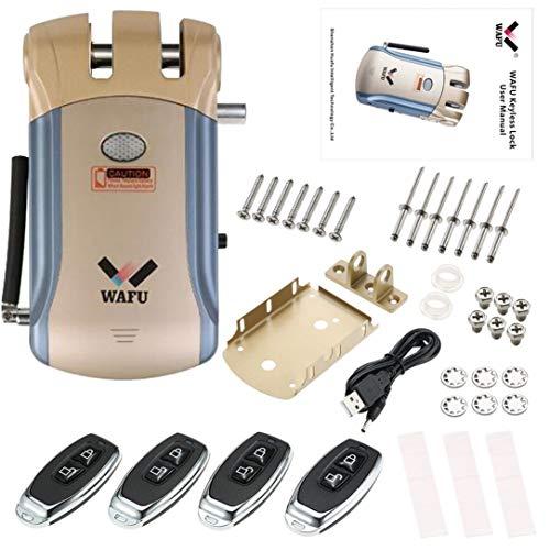 Wafu Smart Lock HF-008 de la huella digital Bluetooth y pantalla táctil sin llave de bloqueo
