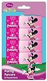 Minnie Mouse Mini Crayones (8 lápices de colores x Set de 4)