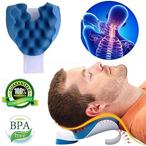 Nacken Und Schulter Relaxer Nackenschmerzen Relief Und Unterstützung Schulter Relaxer Massage Traktions Kissen Chiropraktische Kissen Für Schmerzlinderung Management Und Halswirbelsäule Ausrichtung