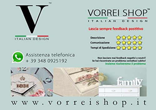 confronta il prezzo Lupia Quadro Moderno 5 pezzi in legno VOGUE 48X85 cm NOTTE STELLATA miglior prezzo